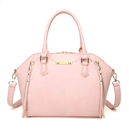 Aitbags Purses and Handbags for Women Tote with Shoulder Strap Big Crossbody Bag Pink