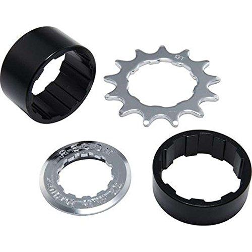 Spank Spoon Hub Single Speed Conversion Kit Cycling Equipment, Silver & Black