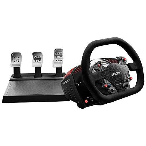 Thrustmaster TS-XW Racer (Volante inkl. 3-Pedali, Force Feedback, 270° - 1080°, Eco-Sistema, Xbox One / PC)