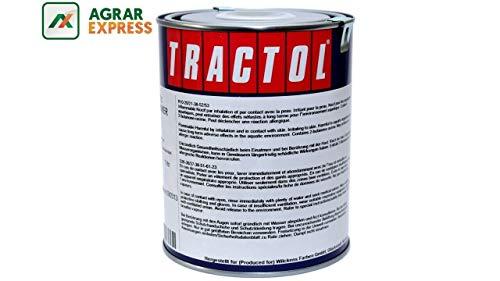 TRACTOL Hanomag brillantgrün 1 Liter Kunstharzlack Traktorlack Schlepperlack