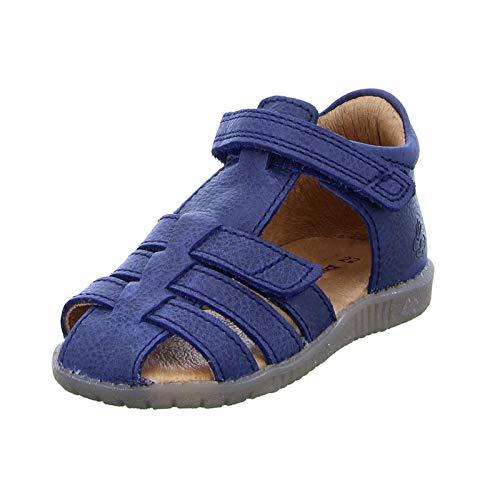 Bundgaard Kinder, Jungen, Mädchen, BG202047G Leder Lederdecksohle Sandale Blau Marine Größe 25 EU