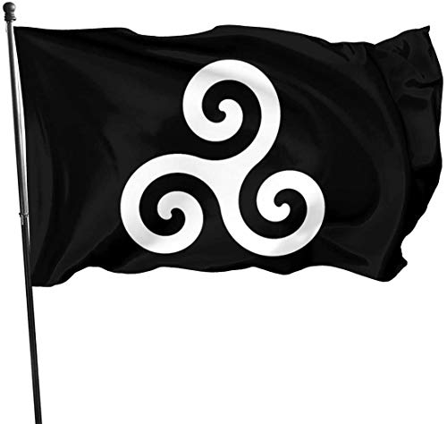 Viplili Flagge/Fahne, Icon Flags 3x5 Feet -Polyester Flags Garden House Outdoor Banners Decorative Flag