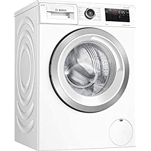Bosch WAU28PH9GB Serie 6 Freestanding i-DOS Washing Machine, Home Connect, 9 kg Load, 1400 rpm Spin – White