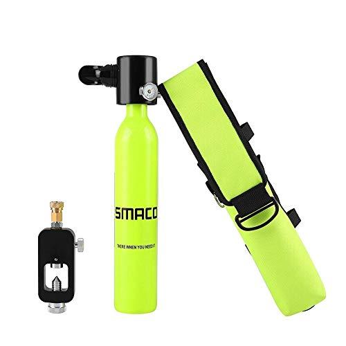 LXH-SMACO Equipos Especiales para Entusiastas del Buceo Equipo de Buceo Mini Cilindro de Buceo Equipo de Buceo con oxígeno para Buceo y Bolso Personalizado (Colore : Mini Oxygen Tank)