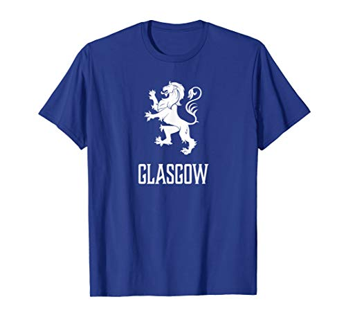 Glasgow, Scotland - Scottish Lion, Gaelic T-shirt