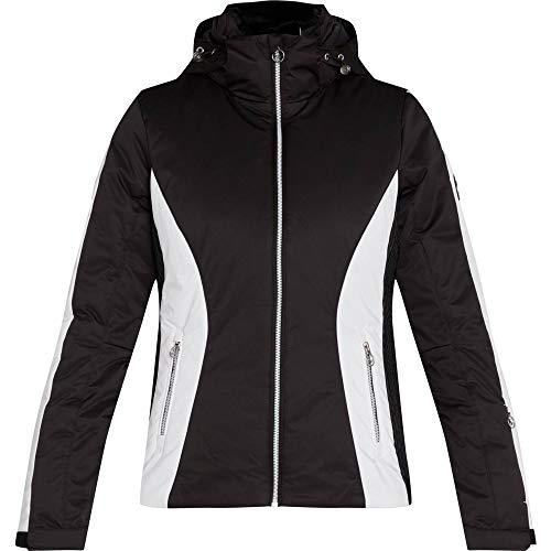 McKINLEY Damen Jacke Dee, Black Night/White/Bl, 38