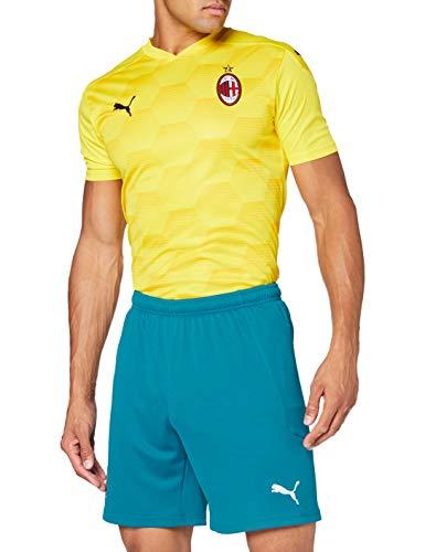 PUMA Herren AC Milan 20/21 Replica Fußballshorts, Deep Lagoon-Gibraltar Sea, XL