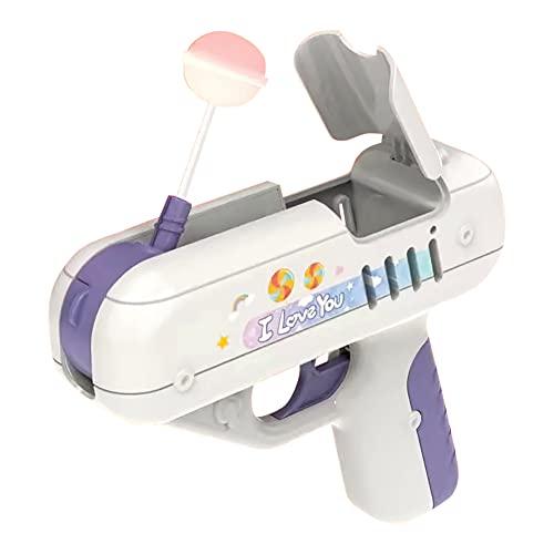 Candy Gun Toy, Lollipop Gun, Lollipop Storage Gun Toy, Candy Toy para Niños, Ideas Sorpresa Regalos Creativos para Niños y Niñas
