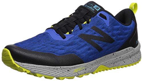 New Balance Trail Nitrel, Zapatillas de Running para Asfalto para Hombre, Azul (Blue/Black Blue/Black), 44.5 EU
