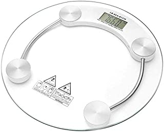SHHDD Intelligent Weight Scale 5-150kg Bathroom Scale Portable Electronic LCD Digital Floor Scale Body Scale