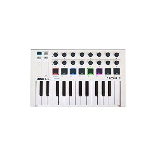 MiniLab Mk II Controller MIDI Universale 25 Tasti 16 Pad RGB Retroilluminati