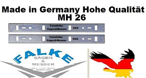 EMCO 2 HSS Hobelmesser 260 MH 26 ( 263x24x1,5mm )