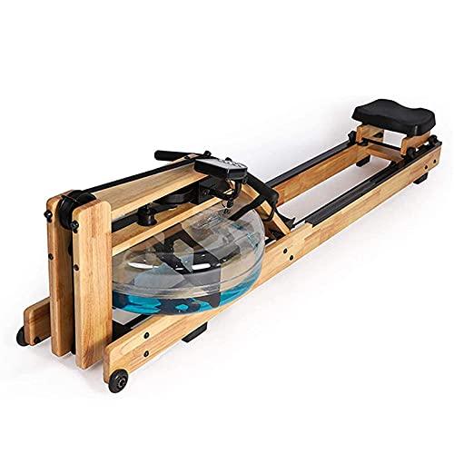 SXHEYUY Máquina De Remo De Agua Home Fitness Rower con Seguimiento De Progreso LCD Pantalla LCD Y Entrenamiento Ajustable De Entrenamiento De Cardio