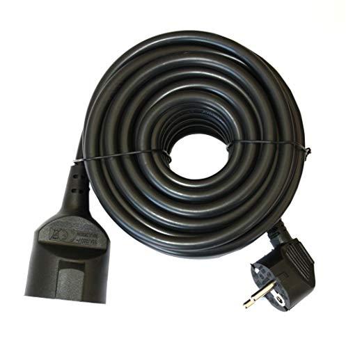 Silver Electronics 9210 Prolongador Manguera, Negro, 10 Metros
