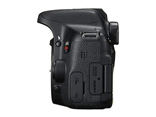Canon EOS Rebel T6i SLR Camera 18-55mm f/3.5-5.6 Lens Deluxe Bundle, 58mm 2x Lens, Wide Angle Lens , Tripod , Flash , UV Kit , Sandisk 32GB