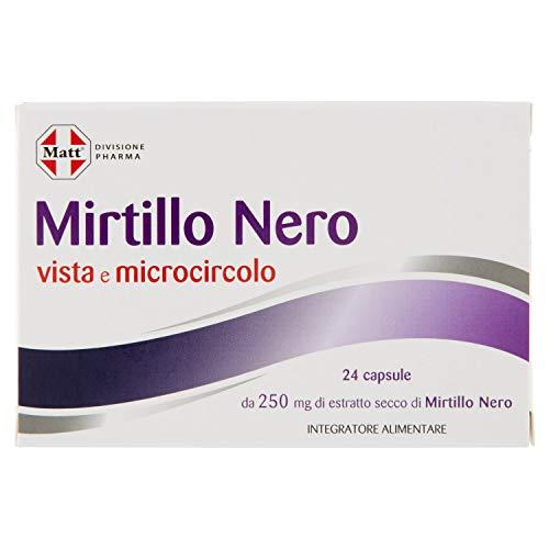 Matt Divisione Pharma Mirtillo, Nero - 9 gr