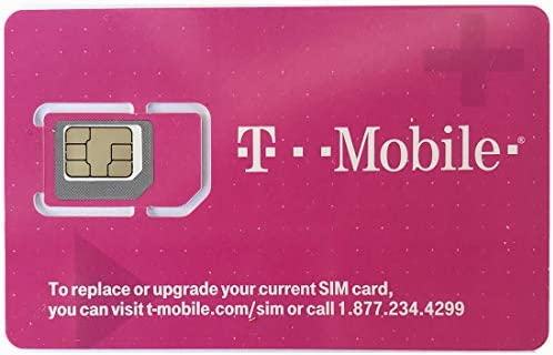 T Mobile Prepaid SIM Card Unlimited Talk Text Data in USA with 5GB Data in Canada and Mexico product image
