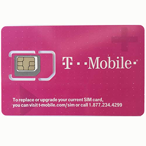 T-Mobile Prepaid SIM Card Unlimited Talk, Text, Data in USA with 5GB...