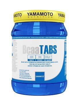 Yamamoto Nutrition Bcaa TABS integratore alimentare per sportivi a base di aminoacidi ramificati (1000 compresse)