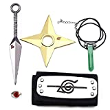 I3C Naruto Figurines Accessoires: Bandeau Anti-Konoha,Kunai Ninja,...