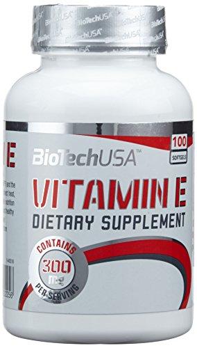 BioTech USA Vitamin E, 100 Tabletten, 1er Pack (1 x 58 g)