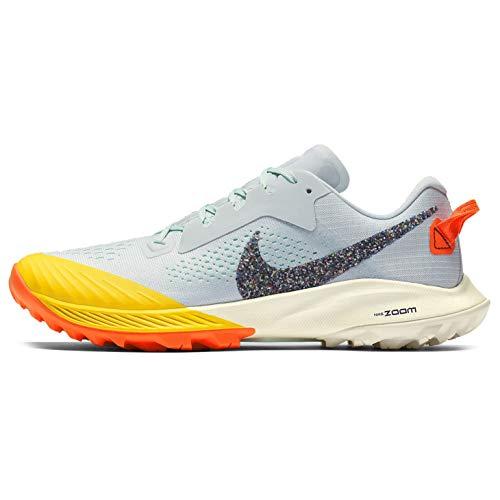 Nike Women's Air Zoom Terra Kiger 6 Trail Running Shoe, Aura/Blue, 9.5 B(M) US