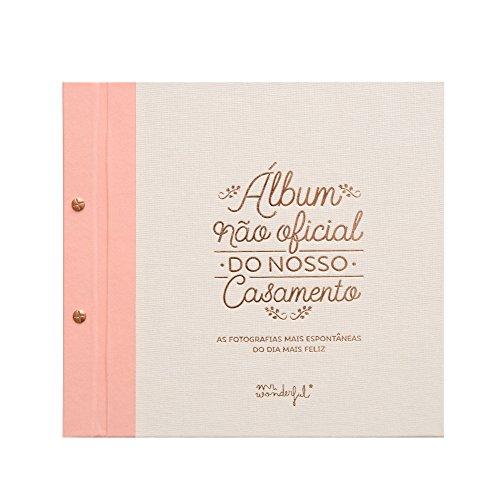 Mr. Wonderful Álbum no Oficial de Nuestra Boda con Contenido en Portugués,...