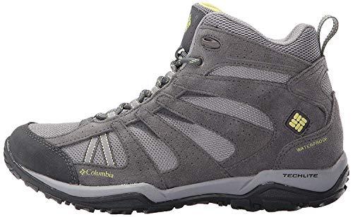 Columbia Women's Dakota Drifter MID Waterproof Hiking Boot, Light Grey, Sunnyside, 10.5 B US
