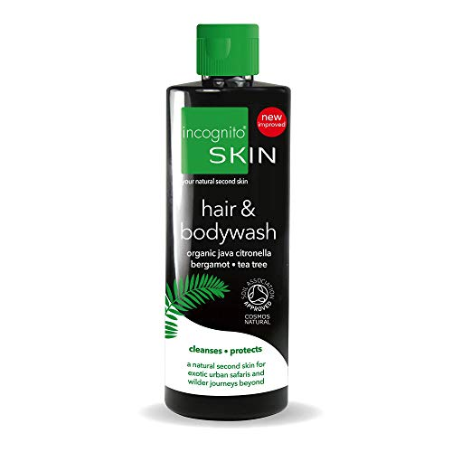 incognito Less Mosquito Shampoo und Duschgel - Insektenabwehrmittel für Haar & Körper - 200ml