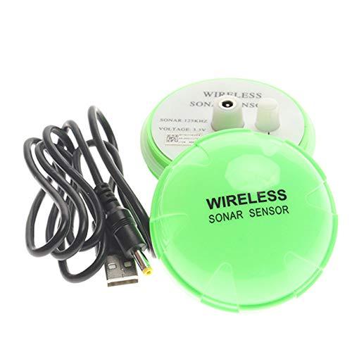 ZSHXF Bluetooth Smart Fish Finder - Sensor de Sonar portátil de Pesca, Buscador de Profundidad inalámbrico portátil, Profundidad buscador ecosonda