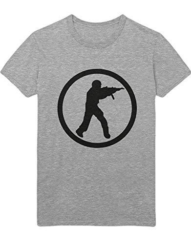 HYPSHRT Herren T-Shirt CS Icon Z100153 Grau M