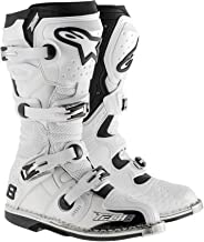 Alpinestars Tech 8 RS Offroad Motocross Boots White Mens Size 10