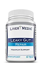 NATURAL SAFE & EFFECTIVE - Comprehensive approach to support leaky gut. Leaky Gut Syndrome, also called intestinal permeability has been widely accepted by progressive physicians as a major health risk for years RESTORE LEAKY GUT - Supports restorati...