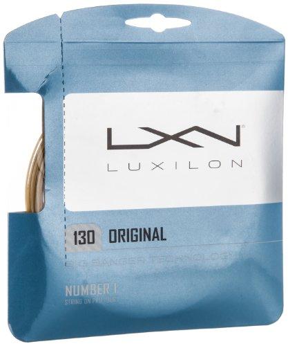Luxilon Original 130 Cordaje de tenis, 12.2 m, unisex, marrón, 1.30 mm