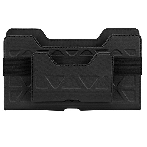 Targus THZ712GLZ Soporte de Transporte Universal Todoterreno para Tablets de 7-8'' sin cinturón (Horizontal) - Negro