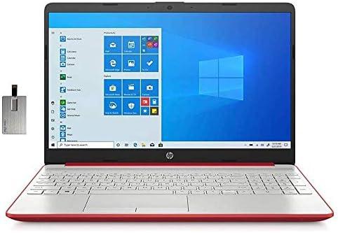 2021 HP Pavilion 15.6″ HD Laptop Computer, Intel Dual-core Pentium Processor, 16GB RAM, 512GB SSD, HD Webcam, Intel UHD Graphics 605, Bluetooth, USB-C, HDMI, Win 10, Red, 32GB SnowBell USB Card