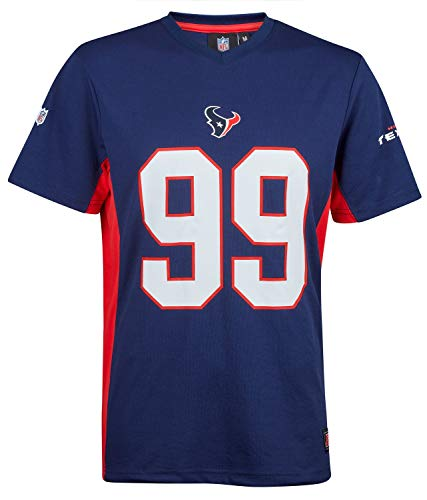 NFL Fanatics Houston Texans J.J. Watt #99 Polymesh Name Number Shirt Jersey Trikot (3XL)