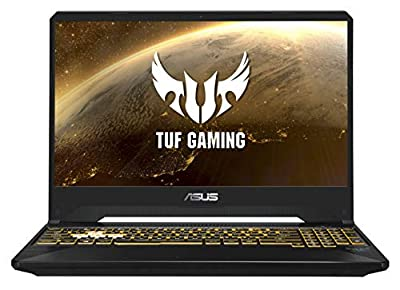 ASUS TUF FX505 - 15.6 Inch IPS Full HD Gaming Laptop - Intel i5-9300H, Nvidia GeForce GTX 1650 4 GB, 8 GB RAM, 512 GB NMVe PCI-e SSD, Windows 10) by Asus
