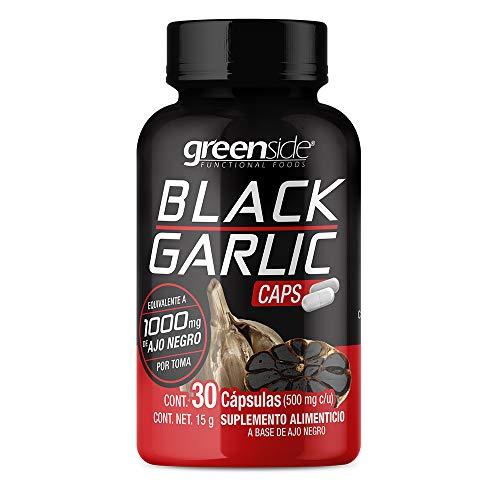 Ajo Negro (Black Garlic) 30 Cápsulas - Greenside