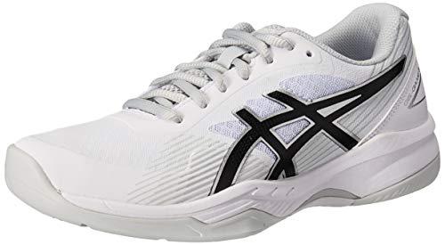ASICS Women's Gel-Game 8 Tennis Shoes, 8.5, White/Black