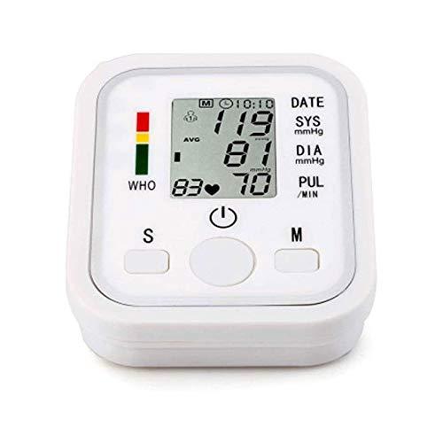 HKJZ SFLRW Monitor de presión Arterial, Manguito de Brazo Superior, máquina de presión Arterial Digital con Manguito de Amplio Gama para Uso doméstico