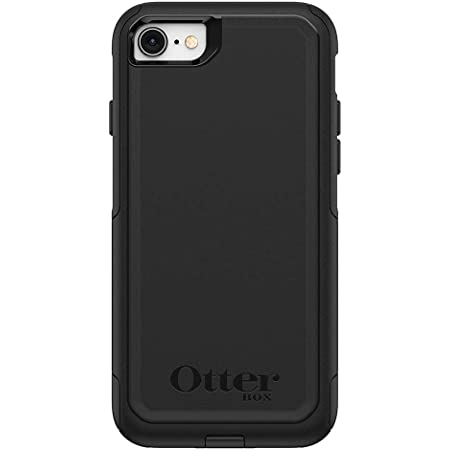 OtterBox Commuter Series Case for iPhone SE (2nd Gen - 2020) & iPhone 8/7 (Not Plus) - Frustration Free Packaging - Black