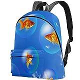 Goldfish y Acuario Bolso Adolescentes Mochila Escolar Mochilas livianas Mochila de Viaje Mochilas diarias