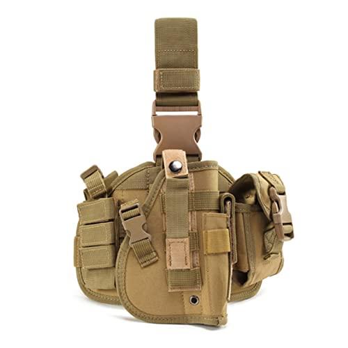 BraveHawk OUTDOORS Tactical Drop Leg Holster, 900D Military...