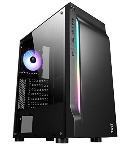 Gaming Desktop - FX-8300 3.30GHz Octa-Core Processor, 16GB DDR3 Memory, GTX 1050Ti 4GB GDDR5 Graphics, 240GB SSD, 1TB HDD, Windows 10 Pro 64-Bit, WiFi...