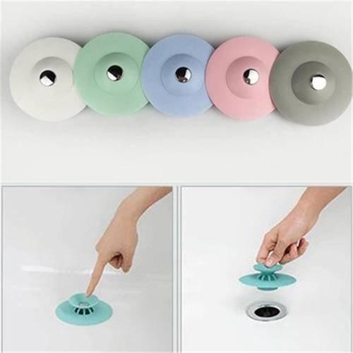 Küche Badezimmer Spüle Plugs Ablauf Haar Sieb Stopper Waschbecken Bad Badewanne Supply Gadget 3 Packungen