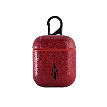 Tattoo Trends Poseidon Trident Tattoo  VINTAGE PINK  Airpods Leather Engrave Case Protective- A Luxury Carrying Cover Shockproof for your Air pods- One of the best and unique Premium PU Leather .