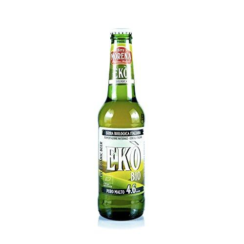 Birra Morena Ekò - 24 bottiglie da 33cl - Birra Biologica Certificata