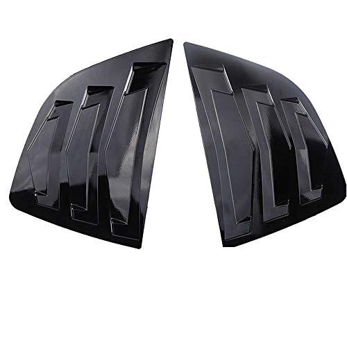 TPHJRM Cubierta de la Rejilla de ventilación de la Ventana Lateral Trasera del Coche, Apta para Honda Jazz Hatchback 2014-2018