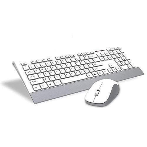 E - Royal Shop ® Original Slim Stylus Wireless Multimedia Keyboard
